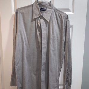 Lands' End grey dress